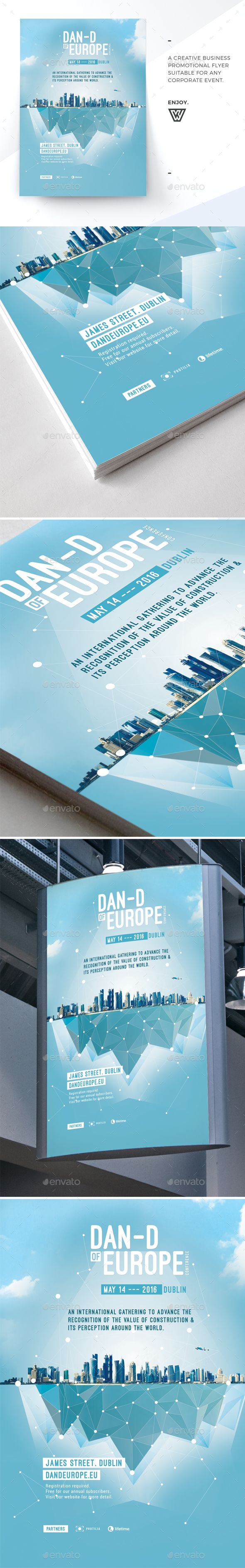 Business Conference Event Flyer Template PSD. Download here: http://graphicriver.net/item/business-conference-event-flyer-/16766244?ref=ksioks