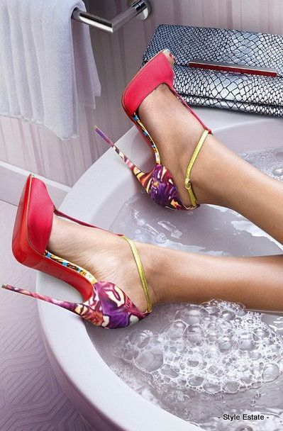 Water in Love! Discover the Christian Louboutin Spring/Summer 2015 Collection - 32 Gorgeous Louboutins That You Absolutely MUST See! #Louboutin - Style Estate -