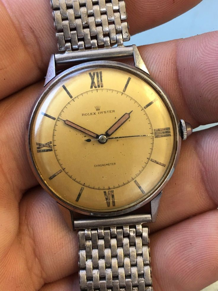 #Forsale Rare 1944 Vintage Original #Rolex Oyster Chronometer Bubbleback Mens Watch 36mm #Auction @$760.00