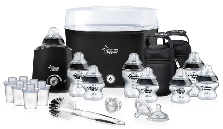 Tommee Tippee Closer to Nature Black Essentials Kit Cheaper on Amazon in black