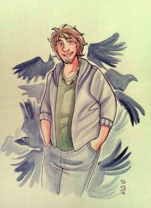 Thank you so much Tentakelgottheit!!! This is the first RAVEN KING fanart someone has ever made for me!
