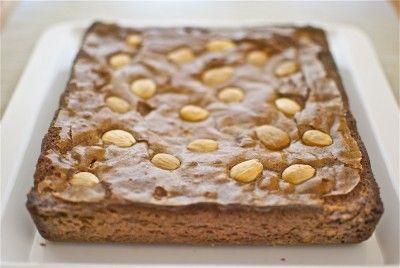 Brownie de chocolate y aceite de oliva (Thermomix)