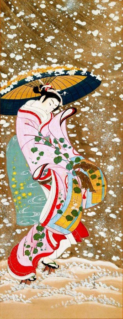 """""""Cadono i fiori di ciliegio sugli specchi d'acqua della risaia: stelle, in una notte senza luna."""" Yosa Buson"""