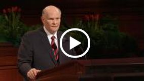 "I love this talk! Here's the quick version- Mormons don't go to church to be told how perfect we are. It's not the ""Congrats, you're done!"" Club. We are sinners, and are TRYING. Every person in that building on Sunday is a sinner who is trying. Even the dudes in suits sitting on the stand (probably falling asleep...)."