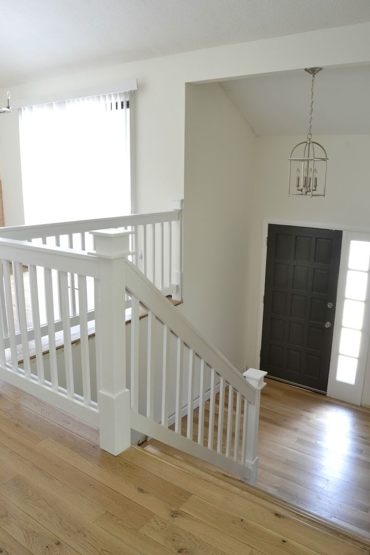 25 Best Ideas About Painted Stair Railings On Pinterest