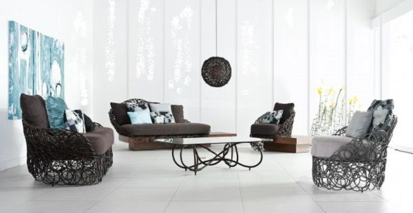 Indoor Wrought Iron Furniture