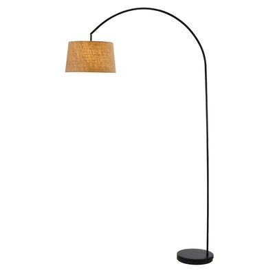 Adesso Goliath 1 Light Arched Floor Lamp | AllModern
