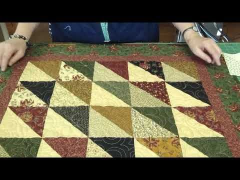 """Make a """"Light and Dark"""" Quilt Using Turnovers - Turnover Week"""