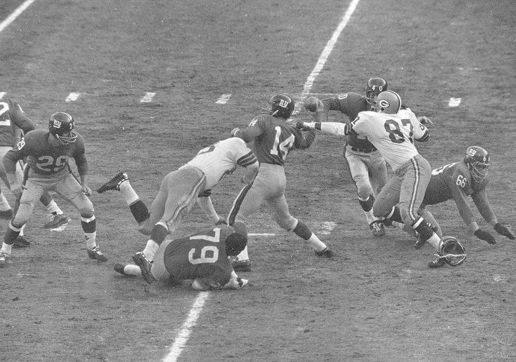 Giants Packers 1961