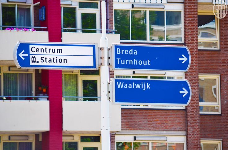 Where do I need to go? Another city? No, go the left! - Tilburg