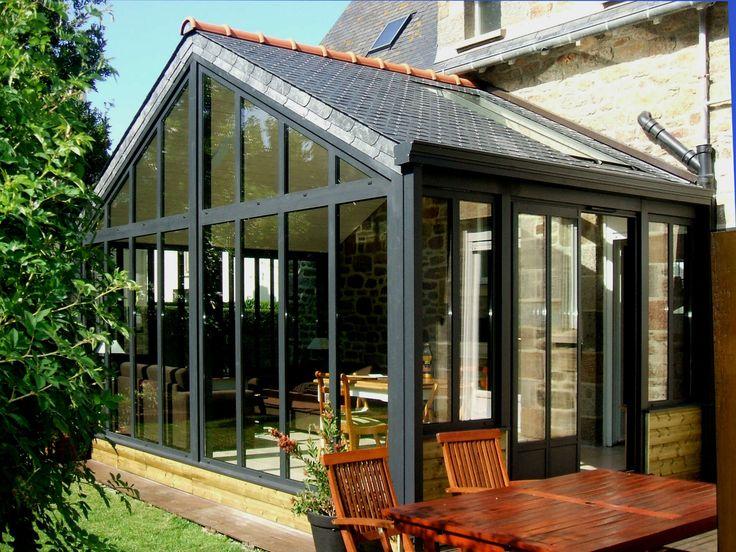 Les 25 meilleures id es concernant toiture ardoise sur for Extension maison tuile