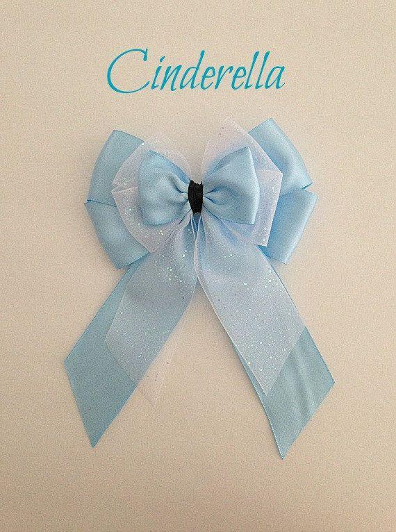 Disney inspired Cinderella princess hair bow by BellaRayneDesigns2, $9.50