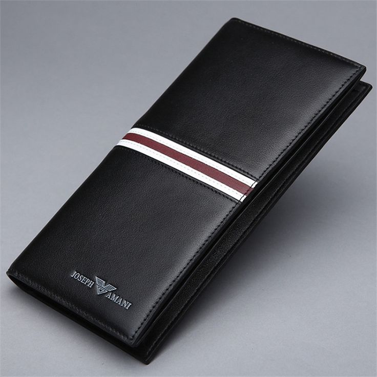 63.10$  Watch here - http://ali3ga.worldwells.pw/go.php?t=32292498509 - 2015 new 100% Genuine Leather luxury men wallet mens checkbook wallets 63.10$