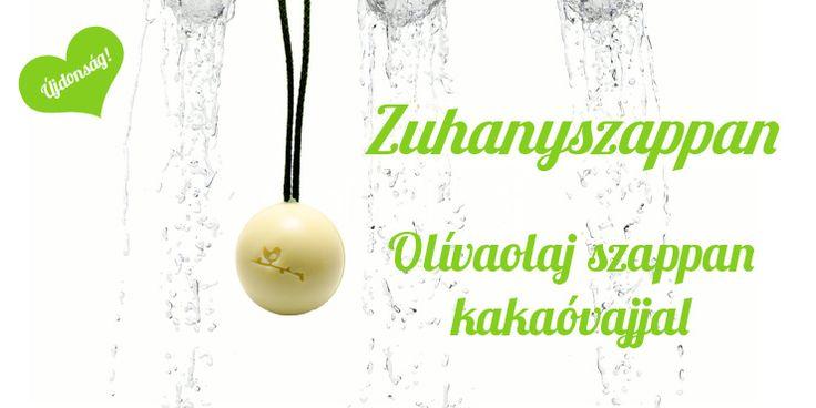 Zuhanyszappan - Olívaolaj szappan kakaóvajjal  #natural #soap #szappan #shower #sphere #olive #cocoabutter #love2smile