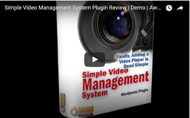 Download Simple Video Management System WP Plugin v8.0          Sales Page   http://simplevideomanagementsystem.com/   Download Link  :-  ...