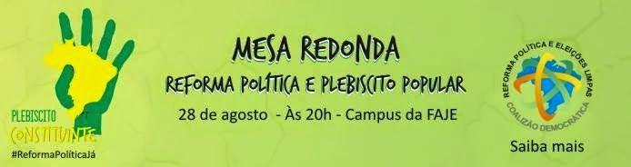 Bruno Braga: Faculdade Jesuíta adere a iniciativas políticas de...