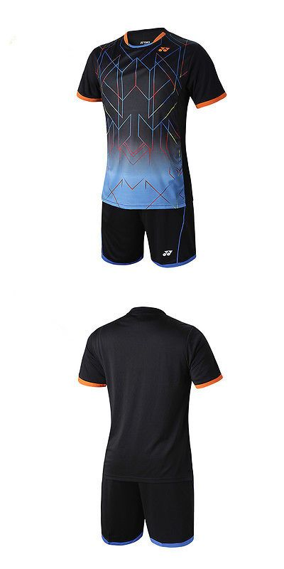 Shirts and Tops 70900: 2015 New Mens Table Tennis Clothing/Badminton Tops Set Shirt+Shorts 1052 Free BUY IT NOW ONLY: $31.99