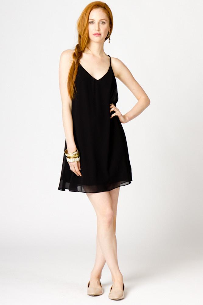 Tara Spaghetti Strap Dress