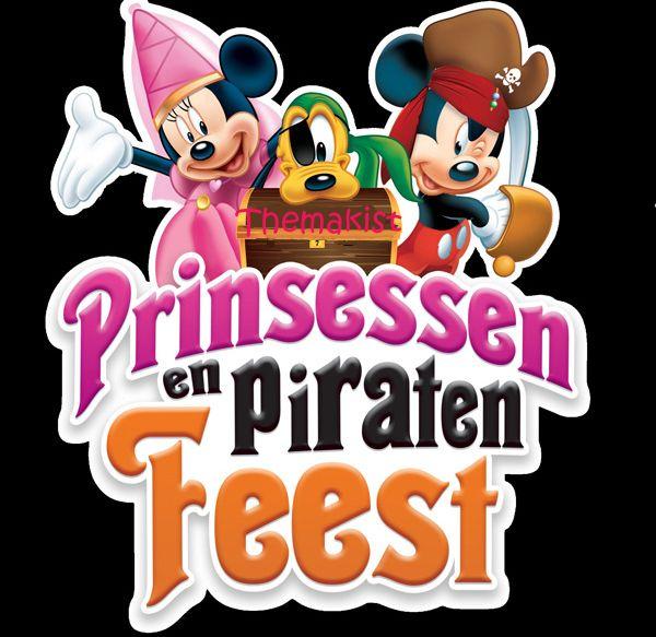 Themafeest jongens en meisjes de combi van de piraten en prinsessen themakist. Leuk feestje tegen scherpe prijs.