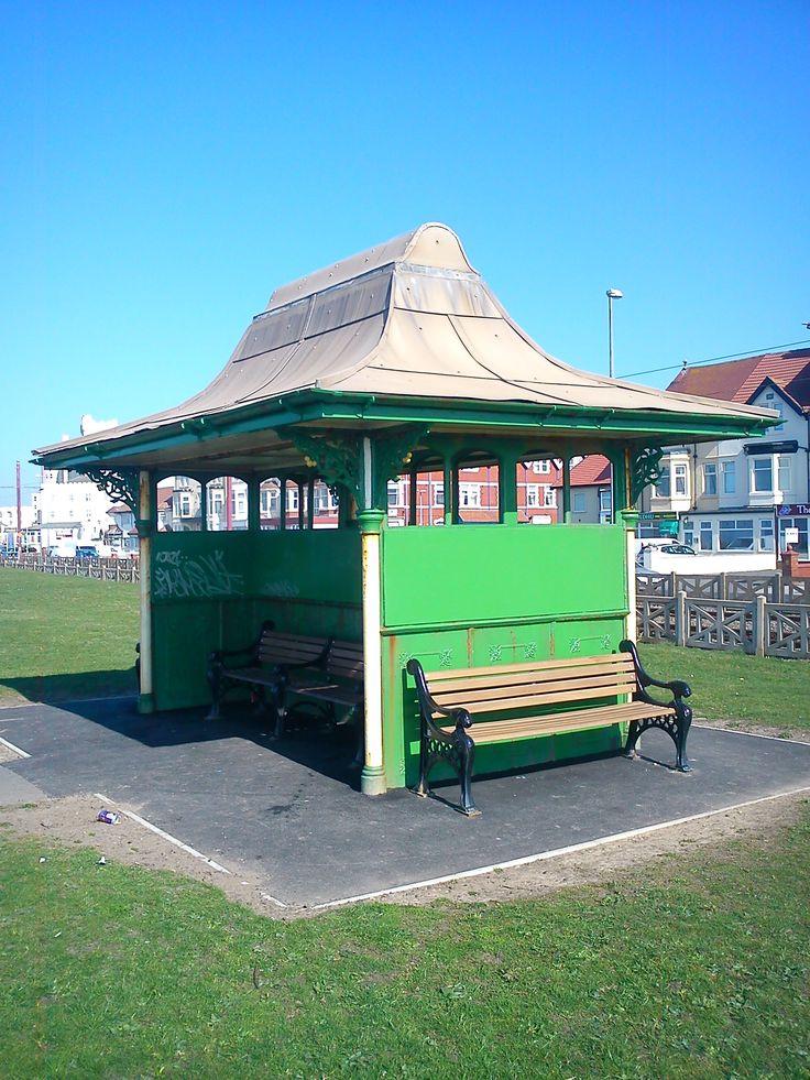 Victorian Tram Shelter, Bispham, Blackpool.