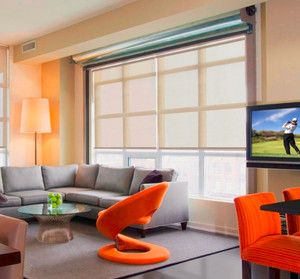 Crestron Launches Motorized Shades with 'Quietest Motor': Debuting at CEDIA Expo 2012, Crestron's motorized window coverings are available in roller shades, Roman shades, skylight shades and drapery track systems.