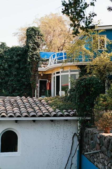 La Chascona, Pablo Neruda's home in Santiago (I was here! It was amazing.)