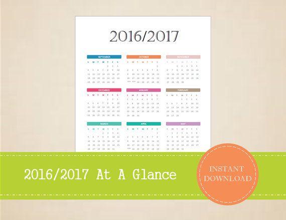2017\/2018 Academic Year at a Glance Calendar - Academic Calendar - sample academic calendar