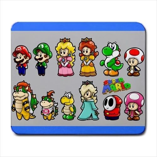 Details About Super Mario Luigi Yoshi Princess Peach Bowser
