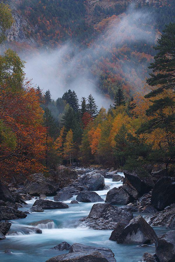 "("" Autumn Spirit "" by Juan Pavon; Ordesa National Park, Spain"