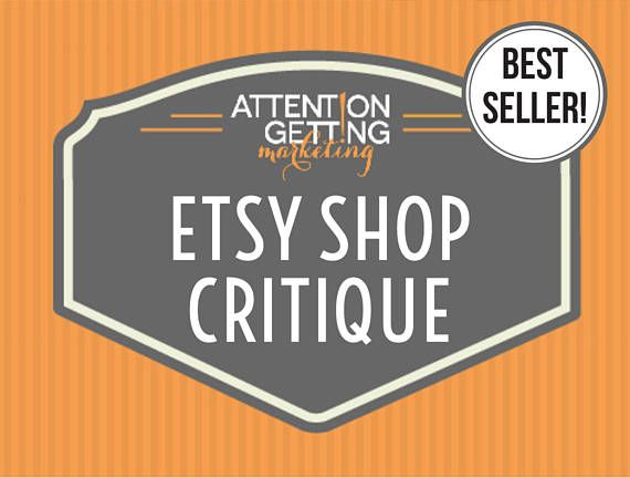 Etsy Shop Critique – BEST SELLER! Get a Personalized Written Critique of Your Etsy Shop with Actionable Tips, SEO Help & How to Sell More