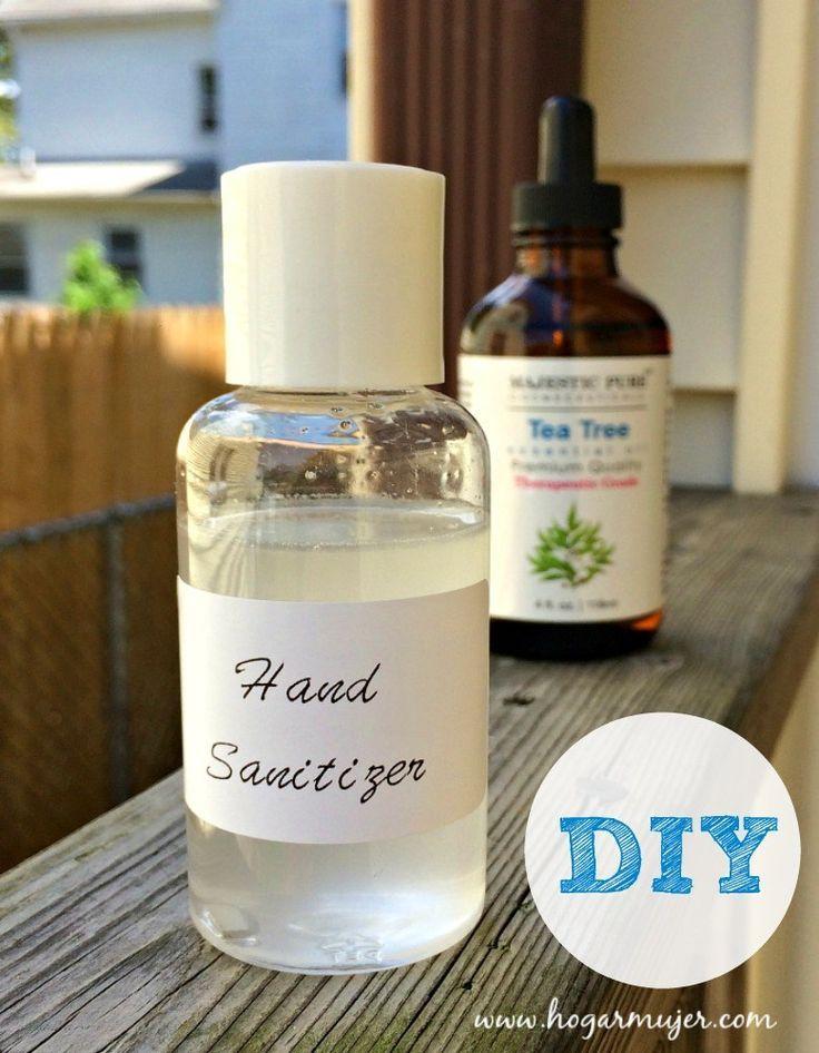 Diy Handsanitizer Essential Oils Desinfectante Natural