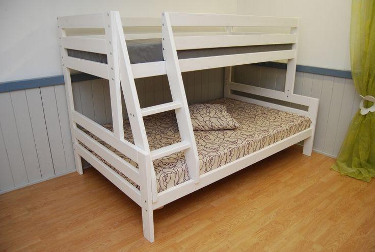 Stapelbed voor 2 personen. Stapelbed 3 persoons, boven 1-persoon en onder 2-persoons. Stapelbed 4 persoons met extra slaap-la. Stapel bed hoekopstelling.