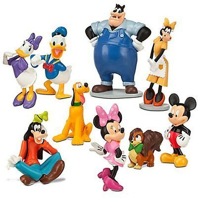 Mickey 19219: Disney Mickey Mouse Clubhouse Playsets Figurine Deluxe Figure Set -> BUY IT NOW ONLY: $51.77 on eBay!
