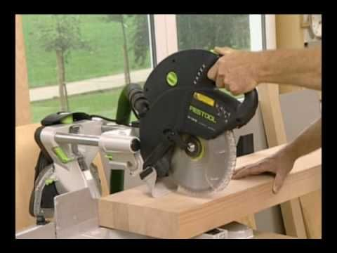 Festool Kapex KS-120 Sliding Compound Miter Saw - YouTube