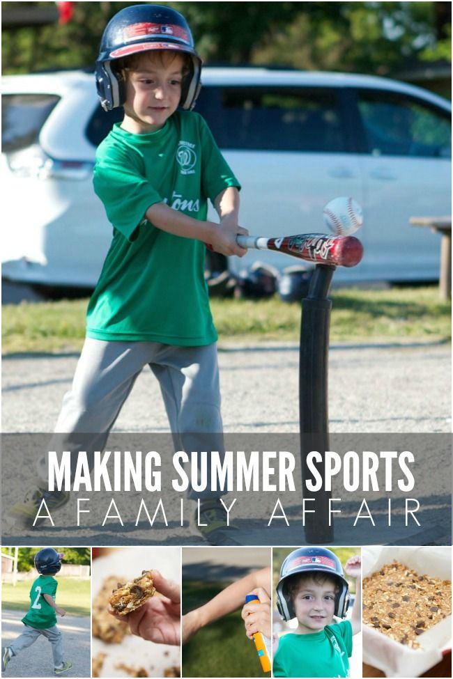 Making Summer Sports a Family Affair #BestSummerEver