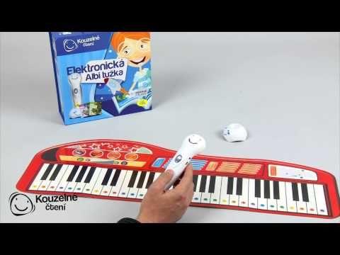 Piano a bubny - Kouzelné čtení   ALBI eshop