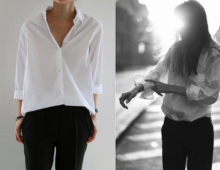 Style inspo black pans and white shirt черные брюки и белая рубашка #стиль #мода #осенняя мода #осенний сезон #style #fashion #style for fall #fallwrdrobe