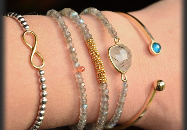Labradorite and YES Dolce ORO set