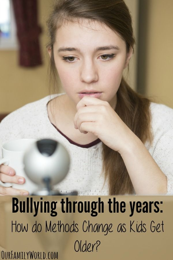 older age bullying Children and young people who know what bullying is, and know what to do  about it if it happens, also know they are not alone in dealing with it they know  that.