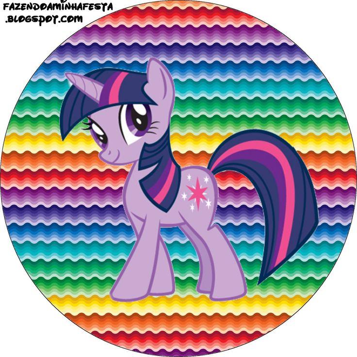 Ideas y material gratis para fiestas y celebraciones Oh My Fiesta!: Imprimibles de My Little Pony 5.