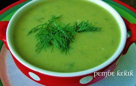pembe kekik: patatesli brokoli çorbası