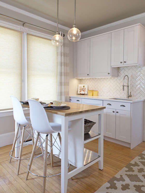 15 Small Kitchen Island Ideas That Inspire Kitchen Remodel Small Narrow Kitchen Island Small Kitchen Island Ideas