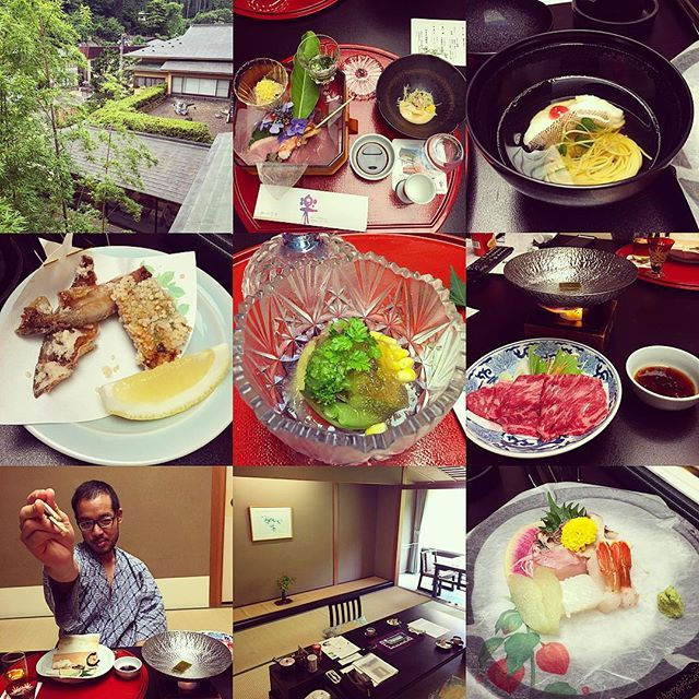 Staying at #ryokan in #tsunagi #onsen in morioka. So peaceful and Enjoying Hot spring and #kaiseki dinner!  盛岡観光の後はつなぎ温泉エリアの四季亭さんで温泉ー静かでいいねー  #morioka #Japan #盛岡 #日本 by yasnakano