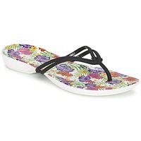 Chaussures Femme Tongs Crocs CROCS ISABELLA FLIP W Noir / Multicolore