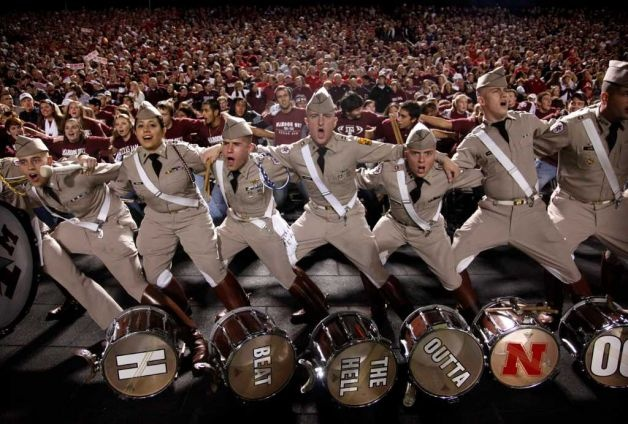 """""""Saw varsity's horns off...""""  ~ Check this out too ~ RollTideWarEagle.com sports stories that inform and entertain and Train Deck to learn the rules of the game you love. #Collegefootball Let us know what you think. #TexasA&M #Aggies"""