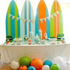 Surf fiesta de verano