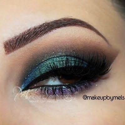 Mystical Night Eye Makeup