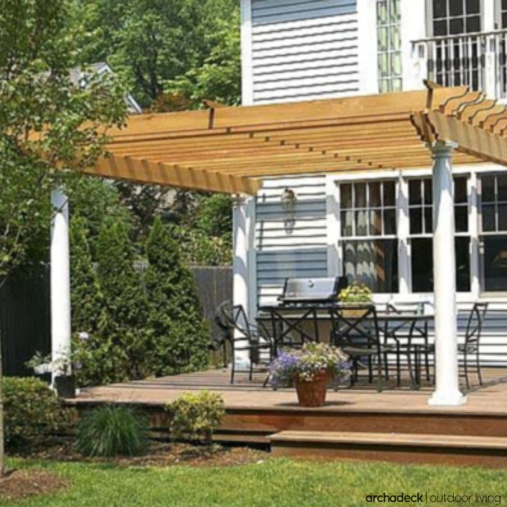 Design Home Improvement Ideas: Small Decks With Big Function