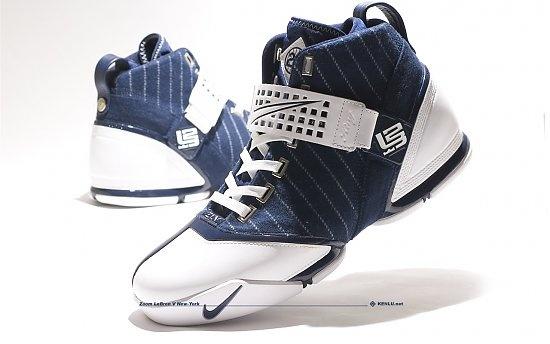 New York Yankees Nike Zoom Lebron 5