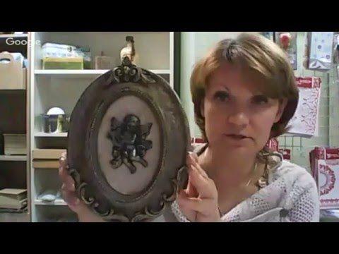 4 й день конференции «Альтернативный декупаж» Анна Стойчева и Олеся Мгеладзе - YouTube
